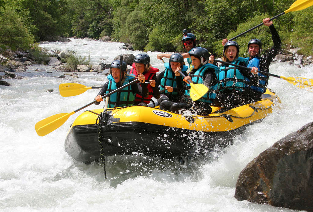 All about Rafting in Serre Chevalier